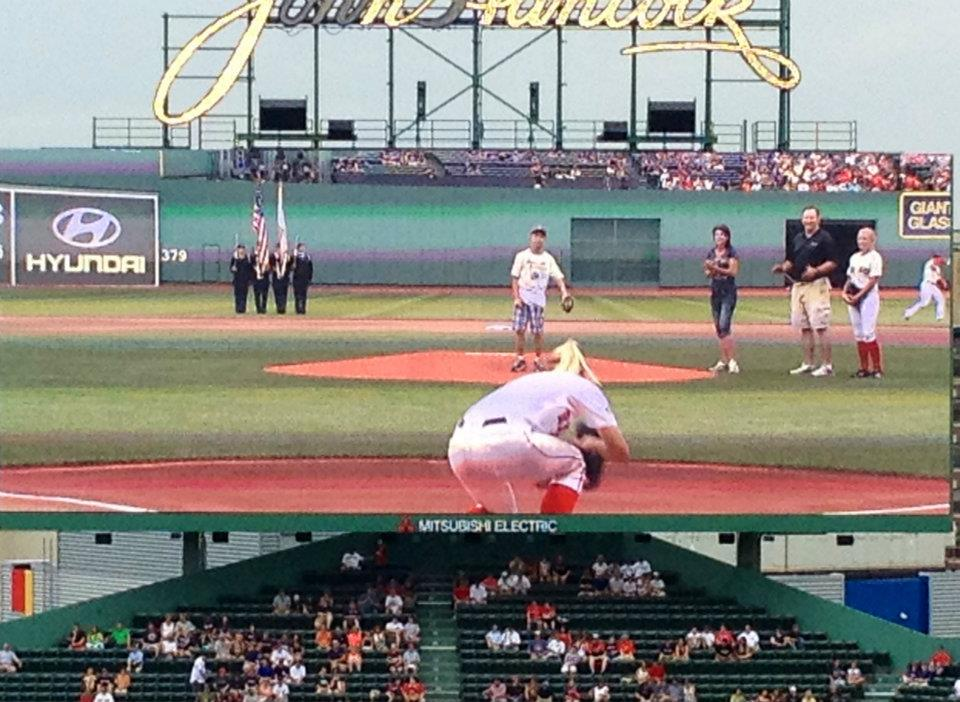 First Pitch. FB pic