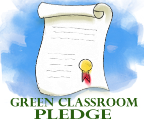 Green Classroom Pledge