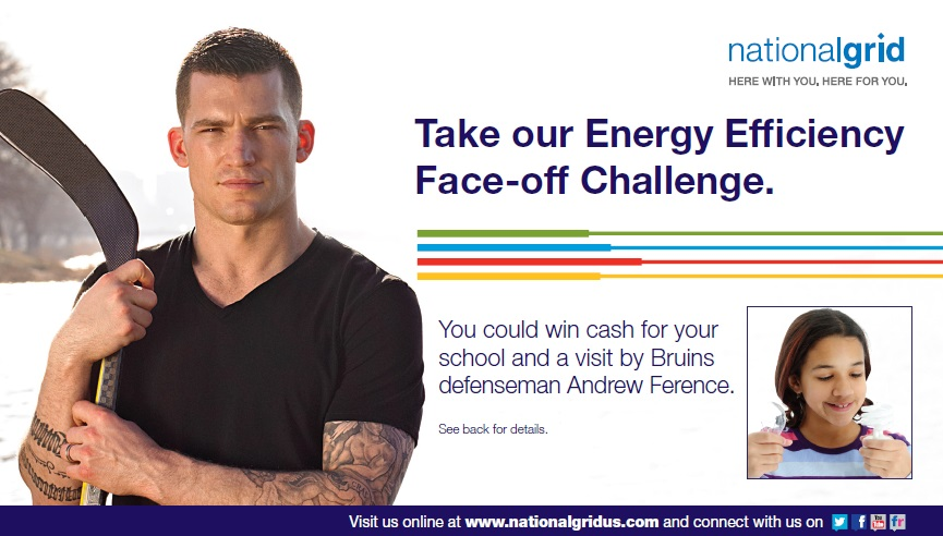 Andrew Ference Postcard Thumbnail