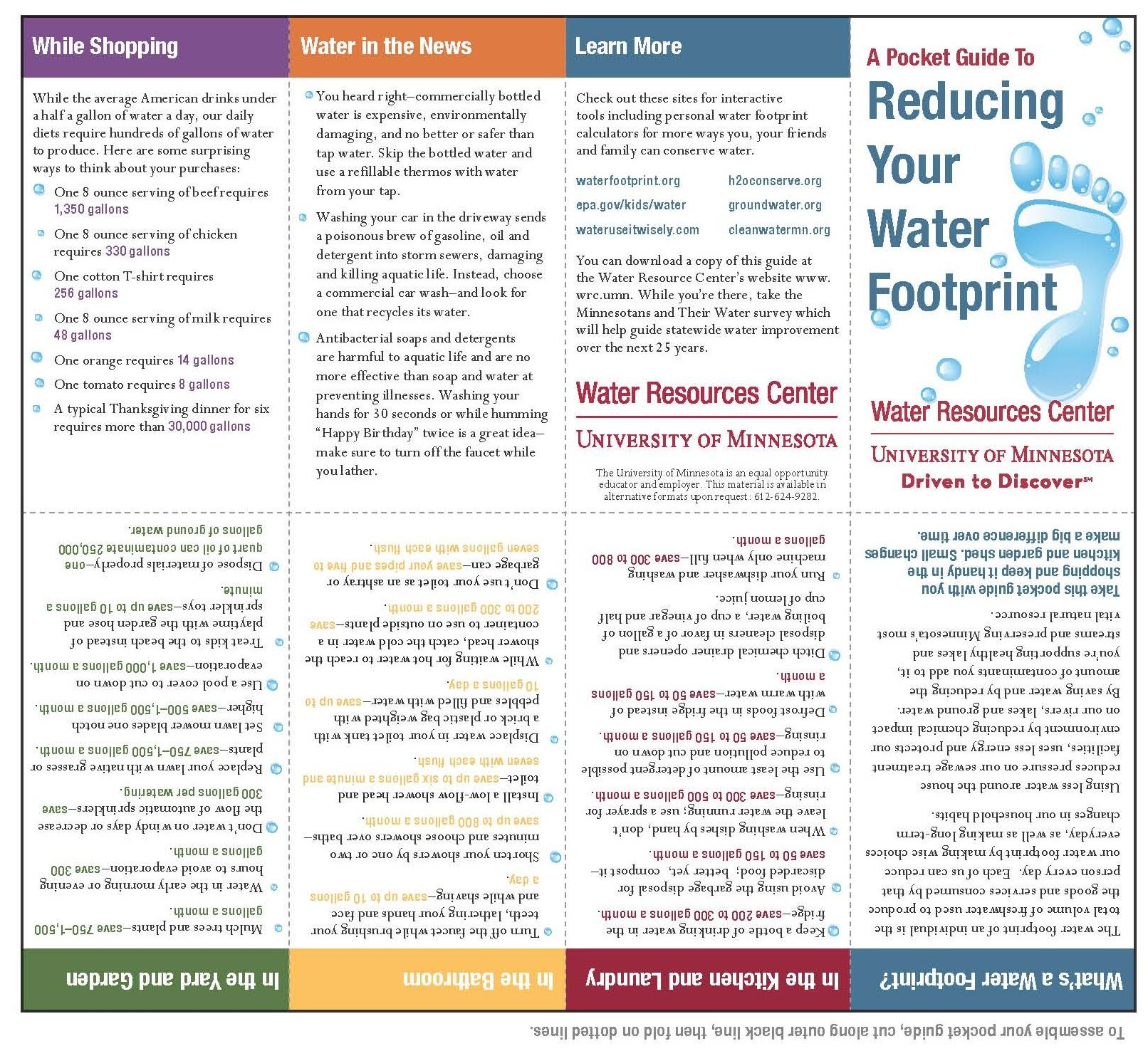 Pocket Guide Water Footprint